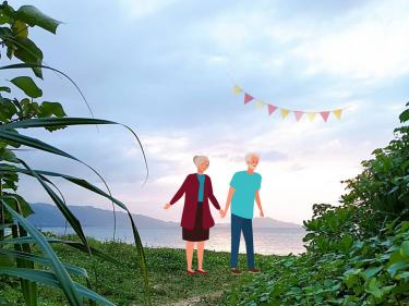 モデルコース for ご夫婦「日常から離れた、島時間を満喫の旅」